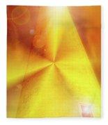 Spiritual Lighthouse Fleece Blanket