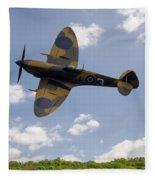 Spitfire Mk356 Fleece Blanket