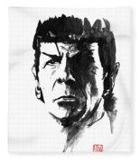 Spock Fleece Blanket