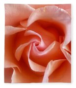 Spring Rose Fleece Blanket