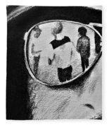 Springsteen Reflection Fleece Blanket