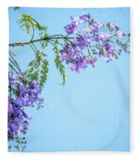 Springtime Beauty Fleece Blanket