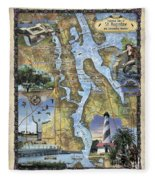 St. Augustine Fleece Blanket