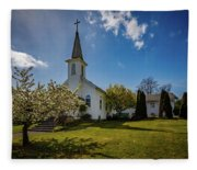 St. Paul's Catholic Church 2 Fleece Blanket