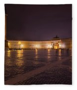 St. Petersburg Palace Square Fleece Blanket