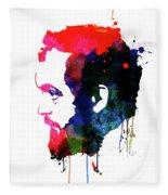 Stanley Watercolor Fleece Blanket