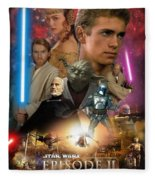 Star Wars Episode II Fleece Blanket
