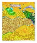 Steamboat Rock 11 Fleece Blanket
