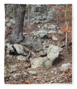 Steep Trails Fleece Blanket