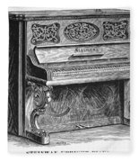 Steinway Piano, 1878 Fleece Blanket