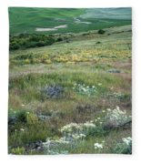 Steptoe Butte View 9276 Fleece Blanket