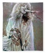 Stevie Nicks Fleece Blanket