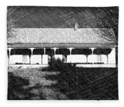 Stonecypher House Fleece Blanket
