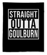 Straight Outta Goulburn Fleece Blanket