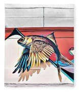 Street Art 15 Fc Fleece Blanket