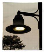 Street Lamp Fleece Blanket