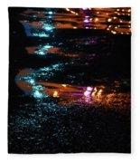 Street Magic  Fleece Blanket