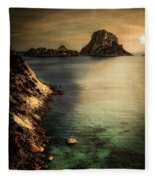 Summer In Ibiza Fleece Blanket