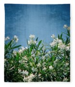 Summer Wildflowers Fleece Blanket