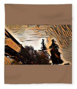 Sun Up Fleece Blanket