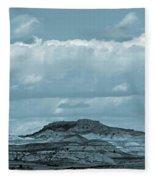 Sundance Of The Badlands Fleece Blanket