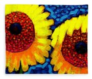 Sunlover Quintet  Fleece Blanket