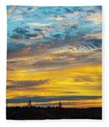 Sunrise At Beaumont Fleece Blanket