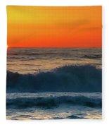 Sunrise First Day Fleece Blanket