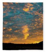 Sunrise In Beaumont,ca Fleece Blanket