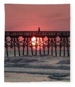 Sunrise Myrtle I Fleece Blanket