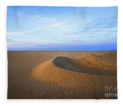 Sunset  Sand Dunes Fleece Blanket