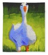 Sunshine Goose Fleece Blanket