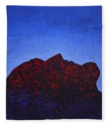 Surfacing Original Painting Fleece Blanket
