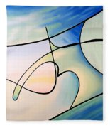 Surfs Up Fleece Blanket
