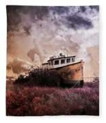 Surrounded By Opportunity  Fleece Blanket