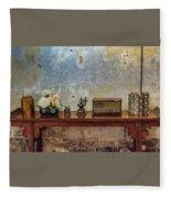 Table Of History Fleece Blanket