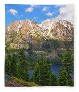 Tahoe Inspiration Point Fleece Blanket