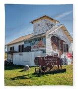 Tatanka Trading Post Fleece Blanket