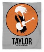 Taylor Swift Fleece Blanket