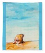 Ted's Tears In The Desert Fleece Blanket