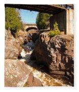 Temperance Bridges Fleece Blanket