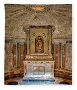 Tempietto Di Bramante Fleece Blanket