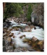 Tenaya Creek, Yosemite National Park Fleece Blanket