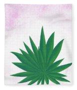 Agave Print Fleece Blanket