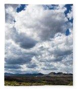 Texas Sky Fleece Blanket