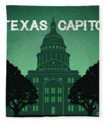 Texas State Capitol Fleece Blanket