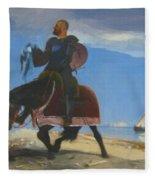 The Adventurer 1882 Fleece Blanket