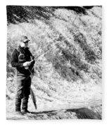 The Angler Fleece Blanket