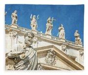 The Apostle Peter Vatican City Fleece Blanket