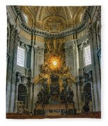 The Aspe Of St. Peter's Fleece Blanket